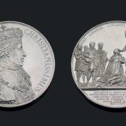 Rarissime médaille en platine de Charles X